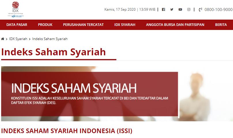 Inilah Daftar Saham Indeks Jakarta Islamic (JII) Terbaru