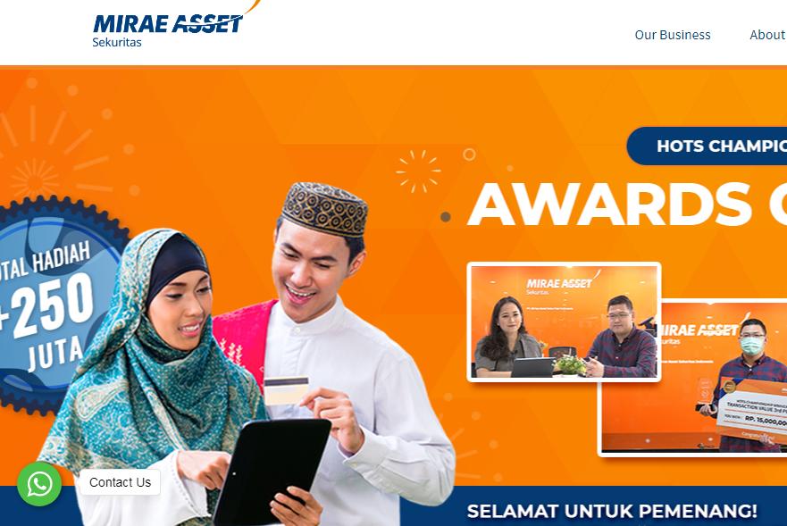 Pilihan Banyak Investor: Mirae Asset Sekuritas Indonesia