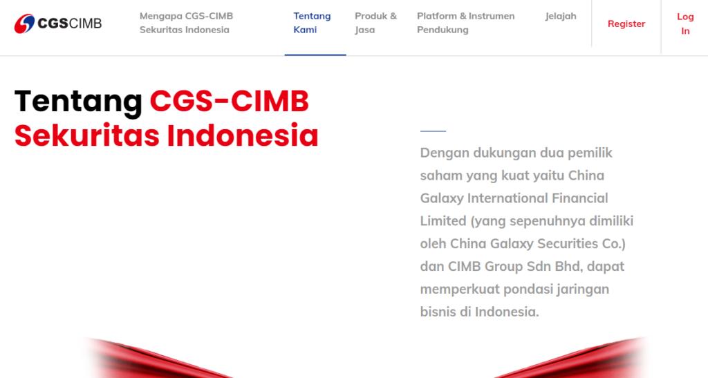 PROFIL PERUSAHAAN CGS CIMB