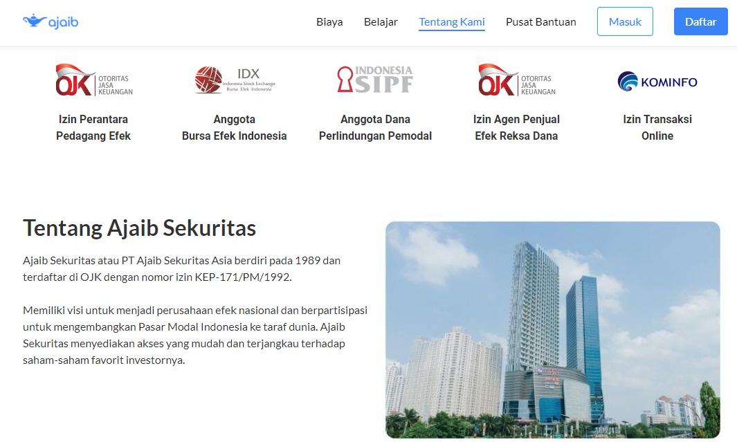 Review Ajaib Sekuritas Asia Aplikasi Investasi Saham Untuk Pemula